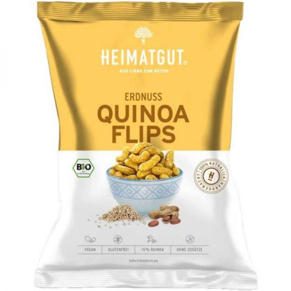 Erdnuss Quinoa Flips Bio, 115g - Heimatgut