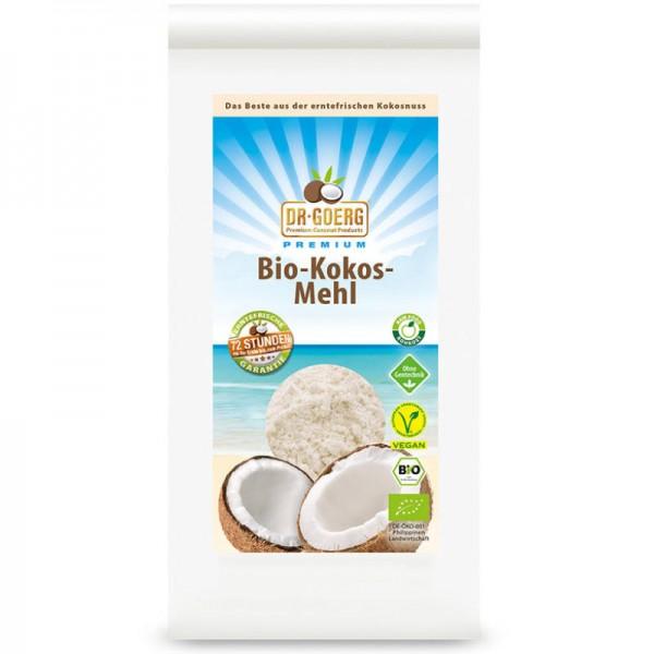Kokosmehl roh Bio, Beutel 600g - Dr. Goerg