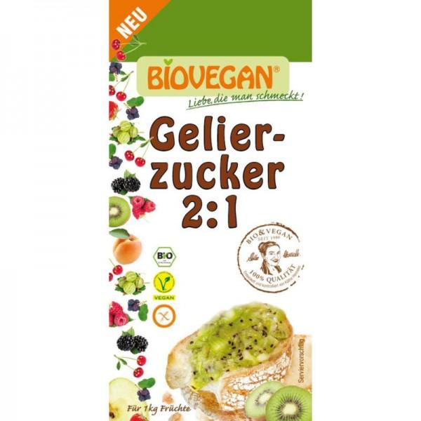 Gelierzucker 2:1 Bio, 500g - Biovegan