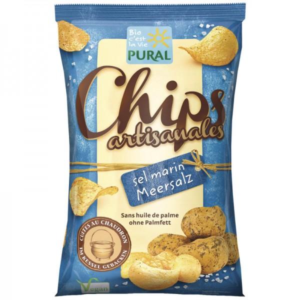 Chips Meersalz Bio, 120g - Pural