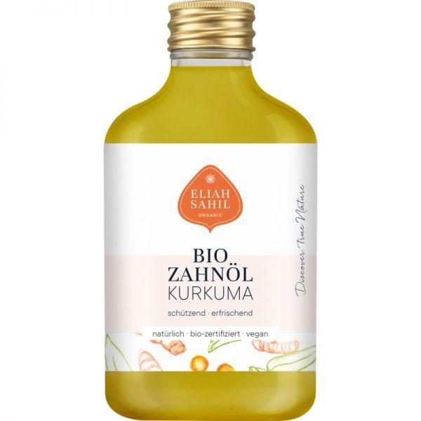 Bio Zahnöl Kurkuma, 100ml - Eliah Sahil