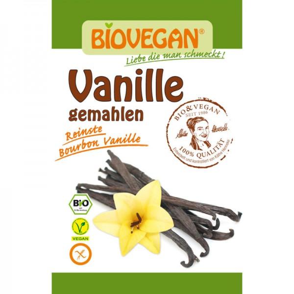 Vanille gemahlen Bio, 5g - Biovegan