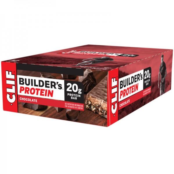 Builder's 20g Protein Chocolate Box, 12 Stück - Clif Bar