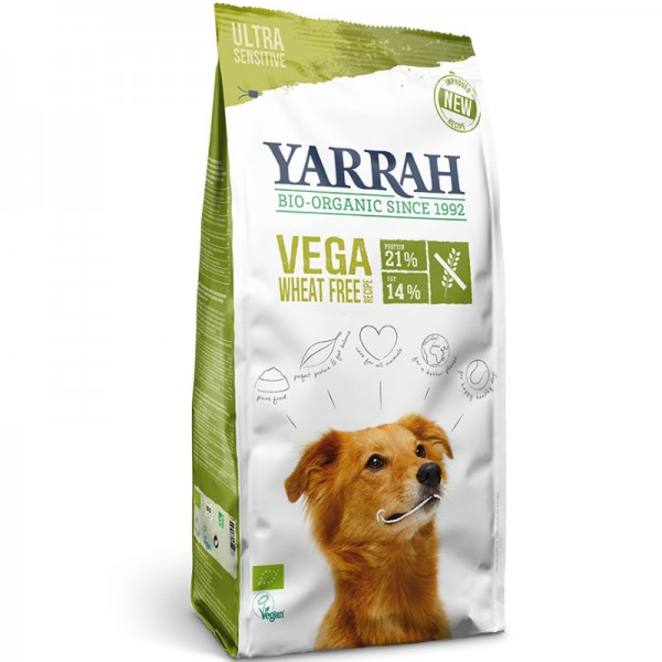 Hundefutter Vega Weizenfrei trocken Bio, 10kg - Yarrah