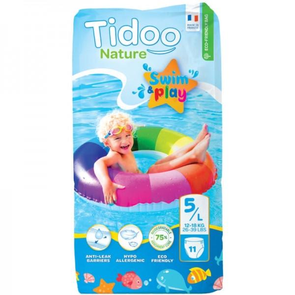 Swim&Play Windeln Grösse 5-L / 12-18kg, 11 Stück - Tidoo