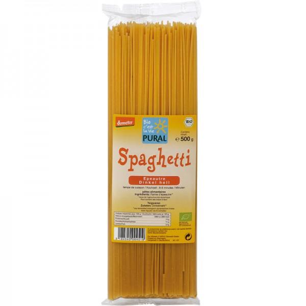 Spaghetti Dinkel Bio, 500g - Pural