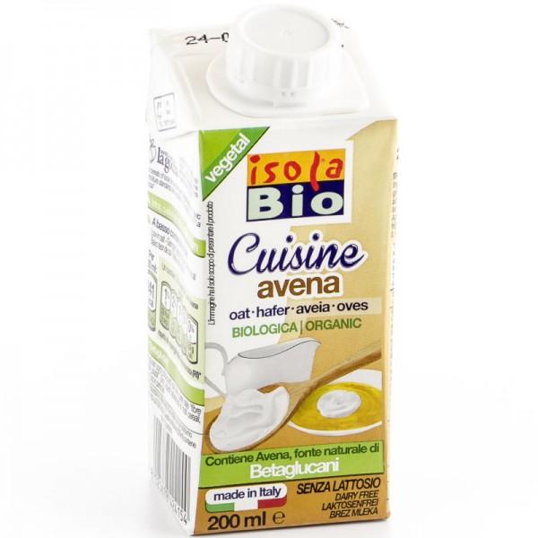 Hafer Cuisine Creme Bio, 200ml - Isola