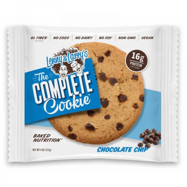 The Complete Cookie Chocolate Chip 16g Protein, 113g - Lenny & Larry's