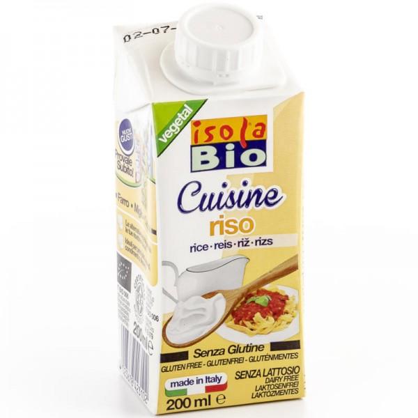 Reis Cuisine Creme Bio, 200ml - Isola