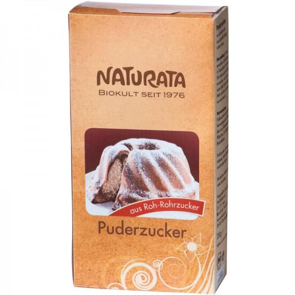 Puderzucker Roh-Rohrzucker Bio, 200g - Naturata