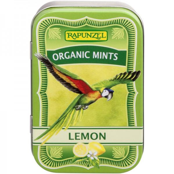 Organic Mint Lemon Bonbons Bio, 50g - Rapunzel