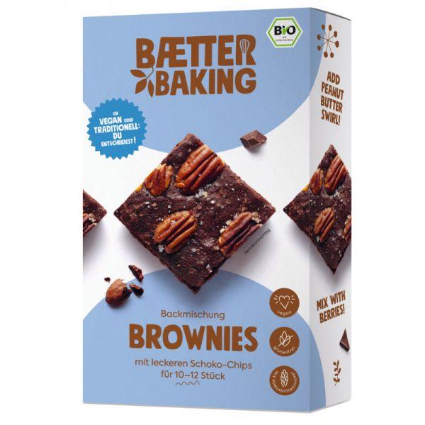Brownies Backmischung Bio, 302g - Baetter Baking