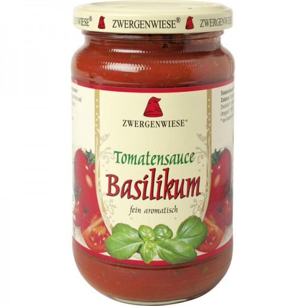 Tomantensauce Basilikum Bio, 340ml - Zwergenwiese