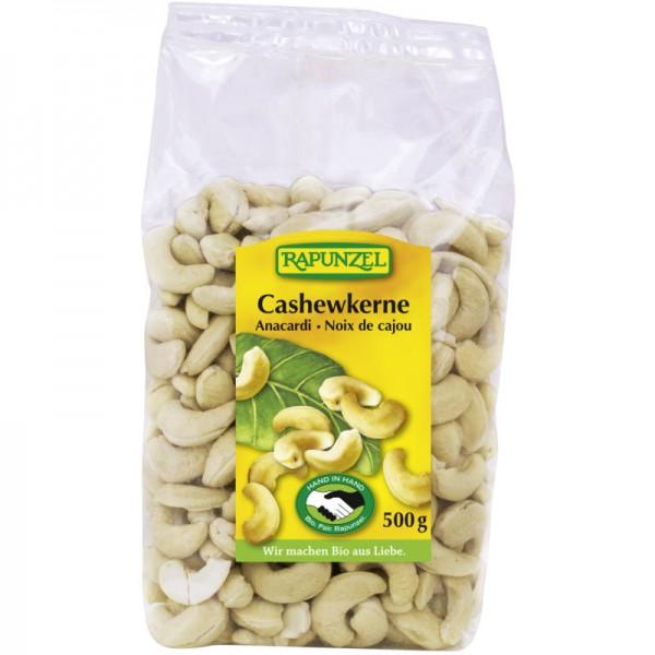 Cashewkerne ganze Bio, 500g - Rapunzel