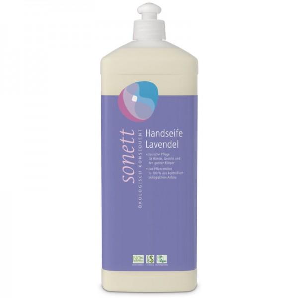 Handseife Lavendel Nachfüllflasche, 1L - Sonett