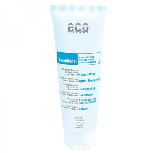 Haarspülung mit Jojoba & grünem Tee, 125ml - eco cosmetics
