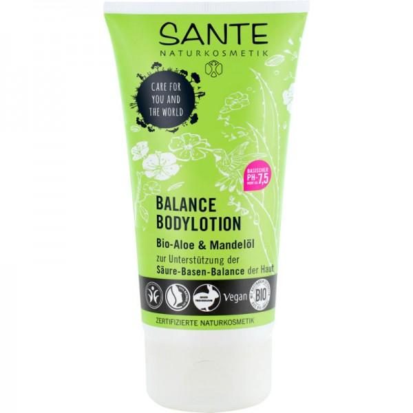 Balance Bodylotion Bio-Aloe & Mandelöl Säuren-Basen-Balance, 150ml - Sante