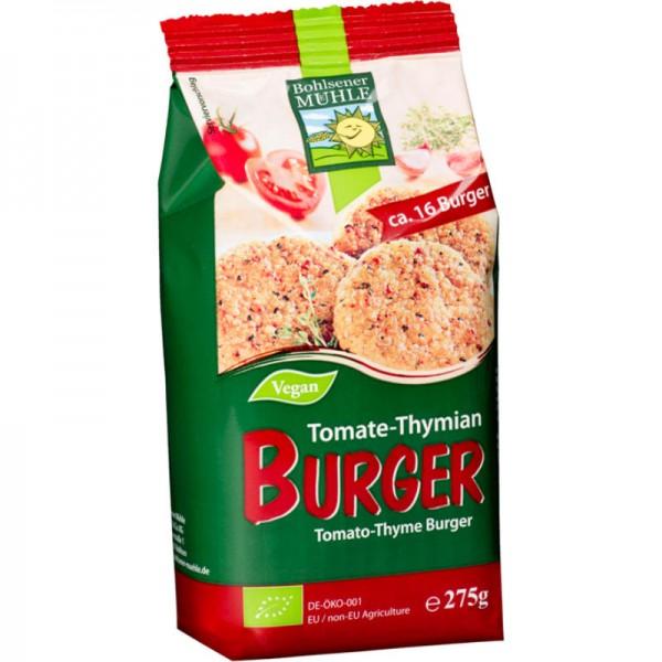 Tomate-Thymian Burger Mischung Bio, 275g - Bohlsener Mühle