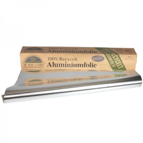 Aluminiumfolie 100% recycelt, 1 Rolle - If You Care