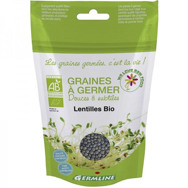 Keimsaat Linsen Beutel Bio, 150g - Germline