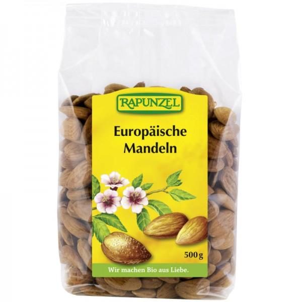 Europäische Mandeln Bio, 500g - Rapunzel