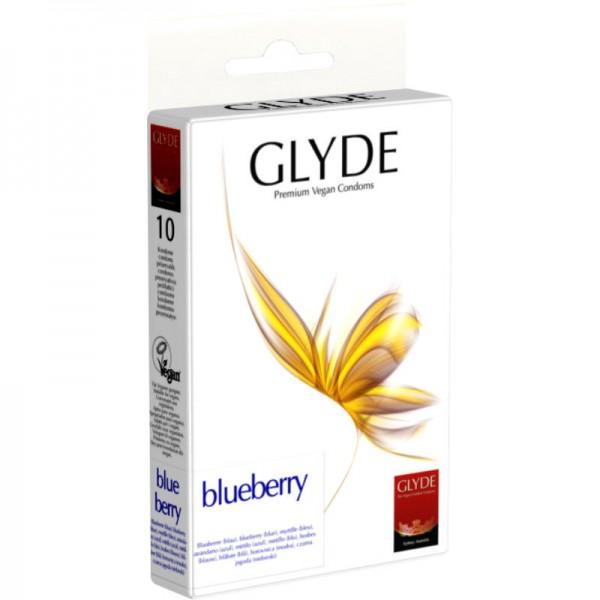 BLUEBERRY Premium Vegan Kondom, 1 Pack à 10 Stück - Glyde