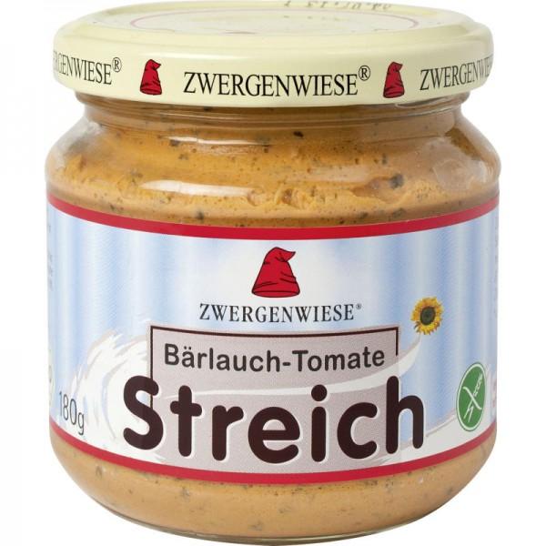 Bärlauch - Tomate Streich  Bio, 180g - Zwergenwiese