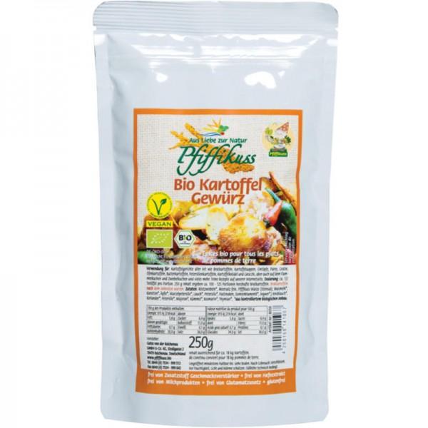 Kartoffel Gewürz Bio, Nachfüllpack 250g - Pfiffikuss