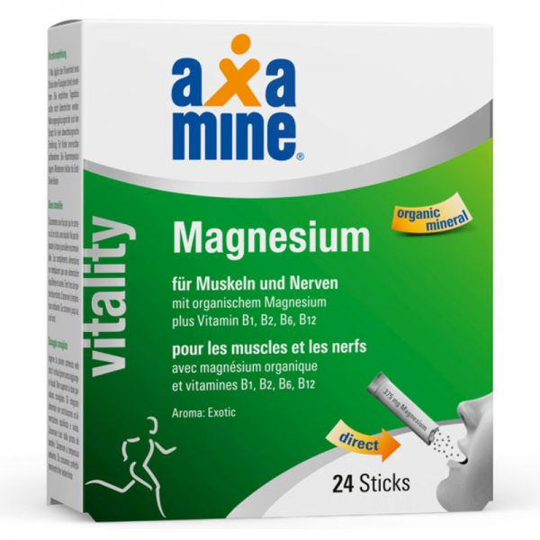 Vitality Magnesium Sticks Exotic, 24 Sticks - Axamine