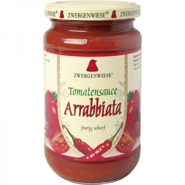 Tomantensauce Arrabbiata Bio, 340ml - Zwergenwiese