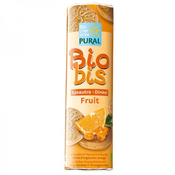 Biobis Dinkel Sanddorn - Orangencreme Bio, 300g - Pural