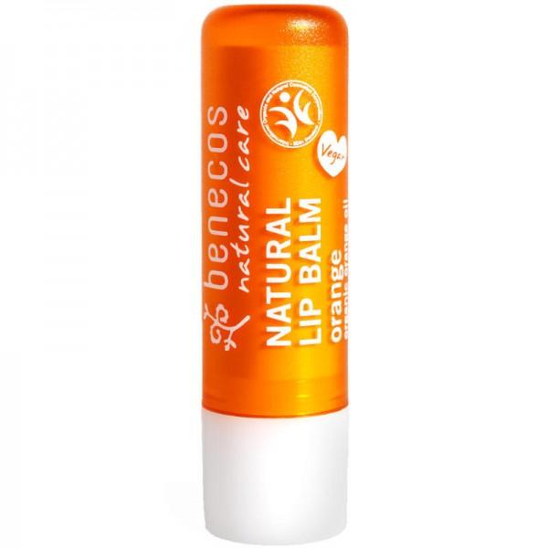 Natural Lip Balm orange, 4.8g - Benecos