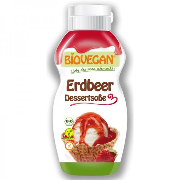 Erdbeer Dessertsosse Bio, 240g - Biovegan