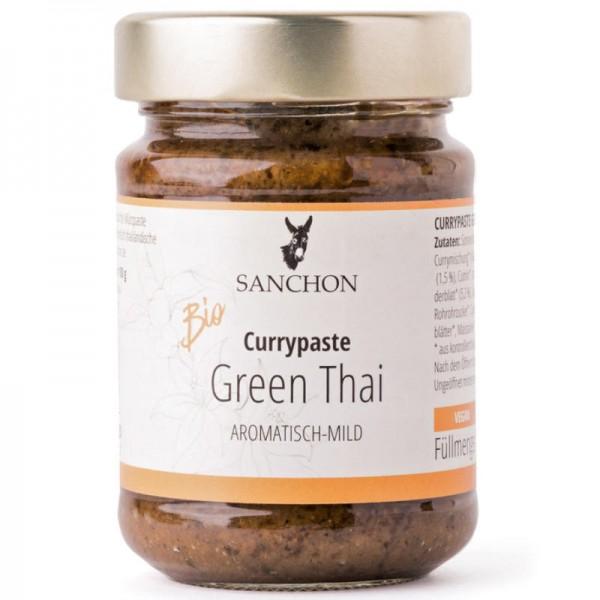 Green Thai Currypaste Bio, 190g - Sanchon