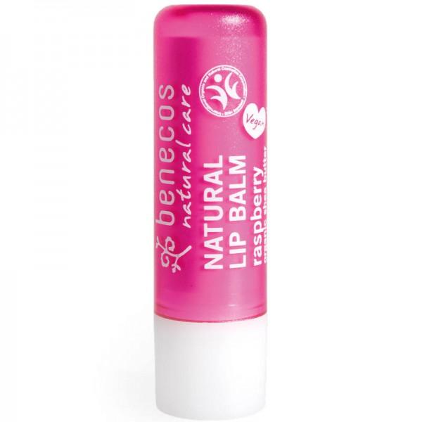 Natural Lip Balm raspberry, 4.8g - Benecos
