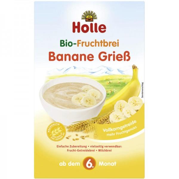 Fruchtbrei Banane Griess Bio, 250g - Holle