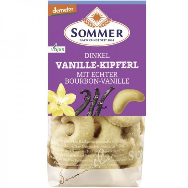 Dinkel Vanille-Kipferl Bio, 150g - Sommer