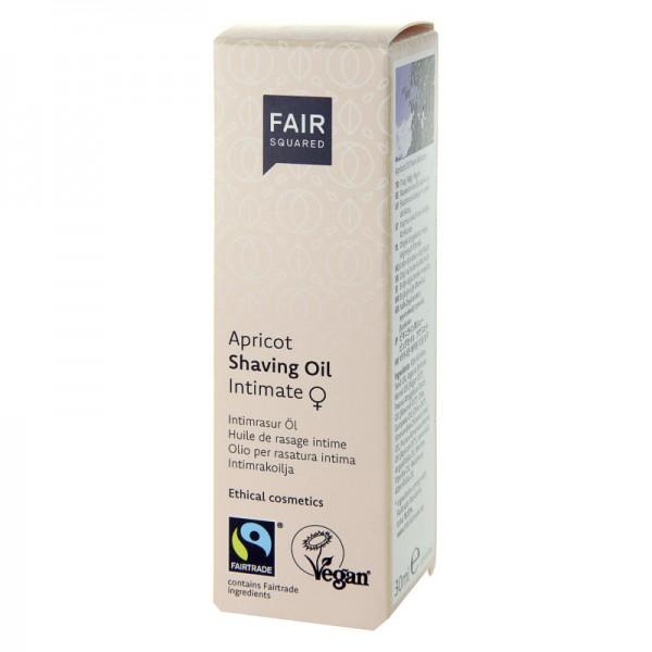Intimate Shaving Oil for Women Dispenser, 30ml - Fair Squared