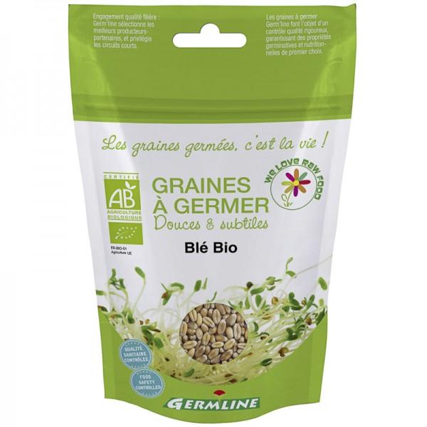 Keimsaat Weizen Beutel Bio, 200g - Germline