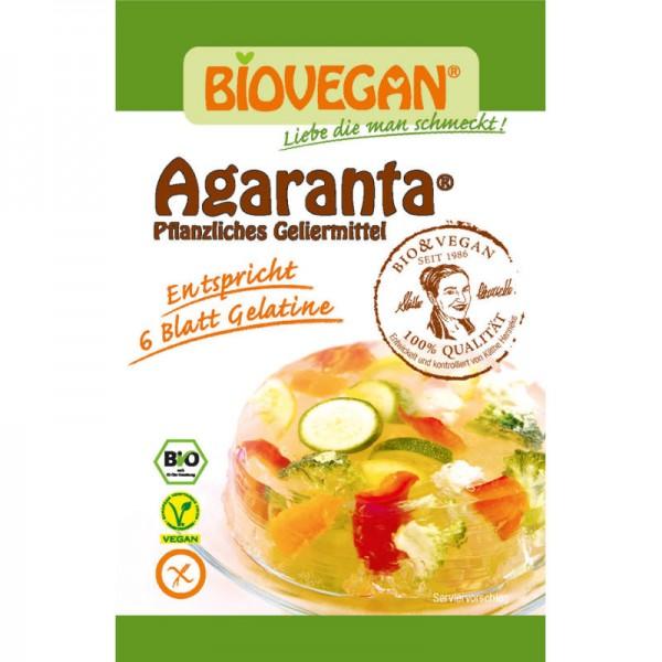 Agaranta Pflanzliches Geliermittel Bio, 18g - Biovegan
