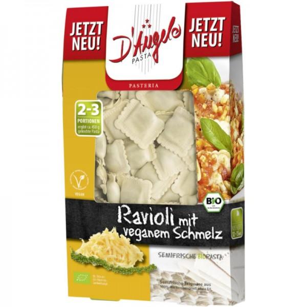 Ravioli mit veganem Schmelz Bio, 250g - D'Angelo Pasta