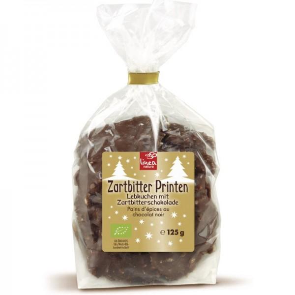 Zartbitter Printen Bio, 125g - Linea Natura