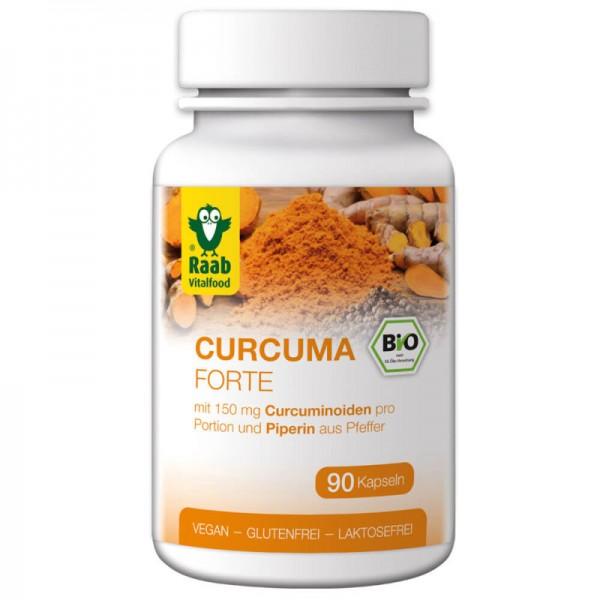 Curcuma Forte Bio, 90 Kapseln - Raab