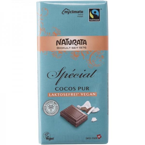 Spécial Cocos Pur Schokolade Bio, (türkis) 100g - Naturata