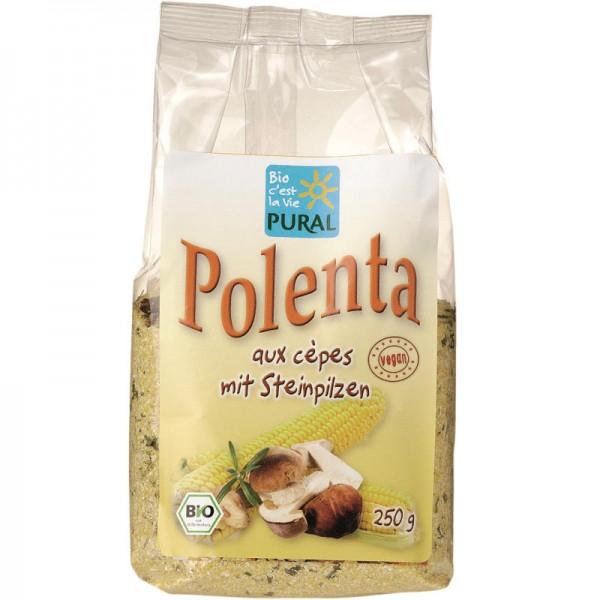 Polenta mit Steinpilzen Bio, 250g - Pural