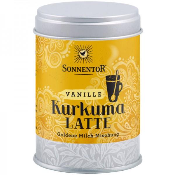 Kurkuma Latte Vanille Dose Bio, 60g - Sonnentor