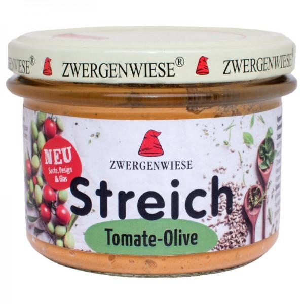 Streich Tomate-Olive Bio, 180g - Zwergenwiese