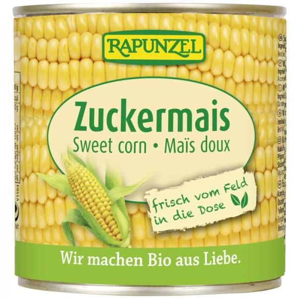 Zuckermais in der Dose Bio, 340g - Rapunzel