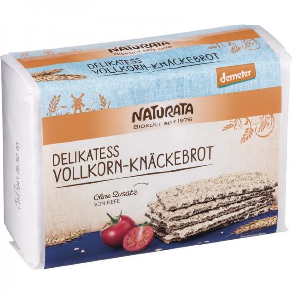 Roggen Delikatess Vollkorn-Knäckebrot Bio, 250g - Naturata