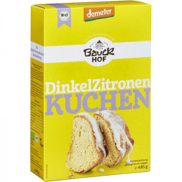 Dinkel Zitronenkuchen Backmischung Bio, 485g - Bauckhof